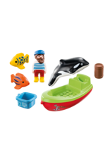 Playmobil Fisherman with Boat 123