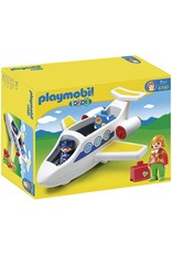 Playmobil 1.2.3 Plane with Passenger