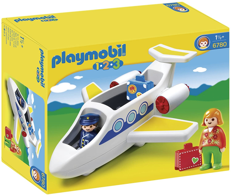 Playmobil Plane with Passenger 123