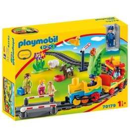 Playmobil 1.2.3 My First Train Set