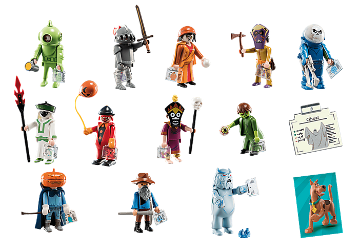 Playmobil Scooby-Doo! Mystery Figures