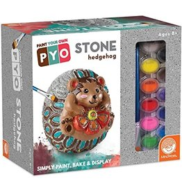 MindWare Paint-Your-Own Stone: Hedgehog