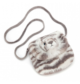 Jellycat Sacha Snow Tiger Shoulder Bag