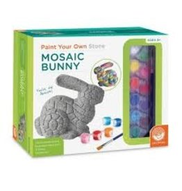 MindWare Paint-Your-Own Stone: Mosaic Bunny