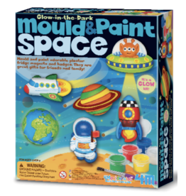 4M Mould & Paint Glow-in-the-Dark Space