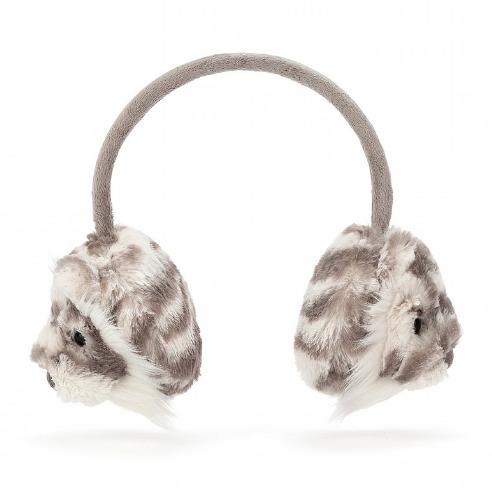 Jellycat Sacha Tiger Ear Muffs
