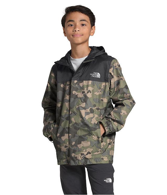 The North Face Boys Resolve Reflective Jacket Camo