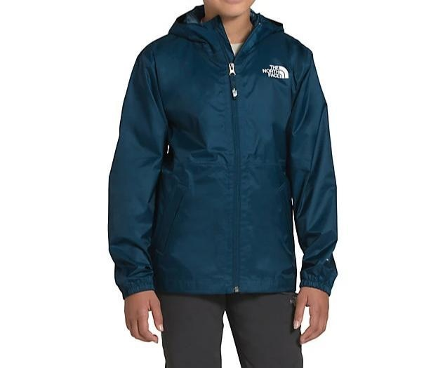 The North Face Youth Zipline Jacket Blue Wing Teal