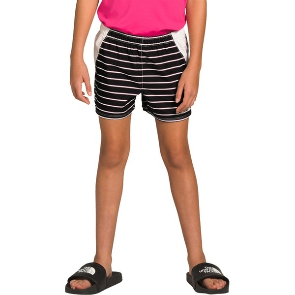 The North Face Toddler Class V Water Short TNF Black Strip Print