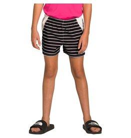 The North Face Girls Class V Water Short TNF Black Strip Print