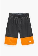 The North Face Boys Water Short Ash Grey Orange