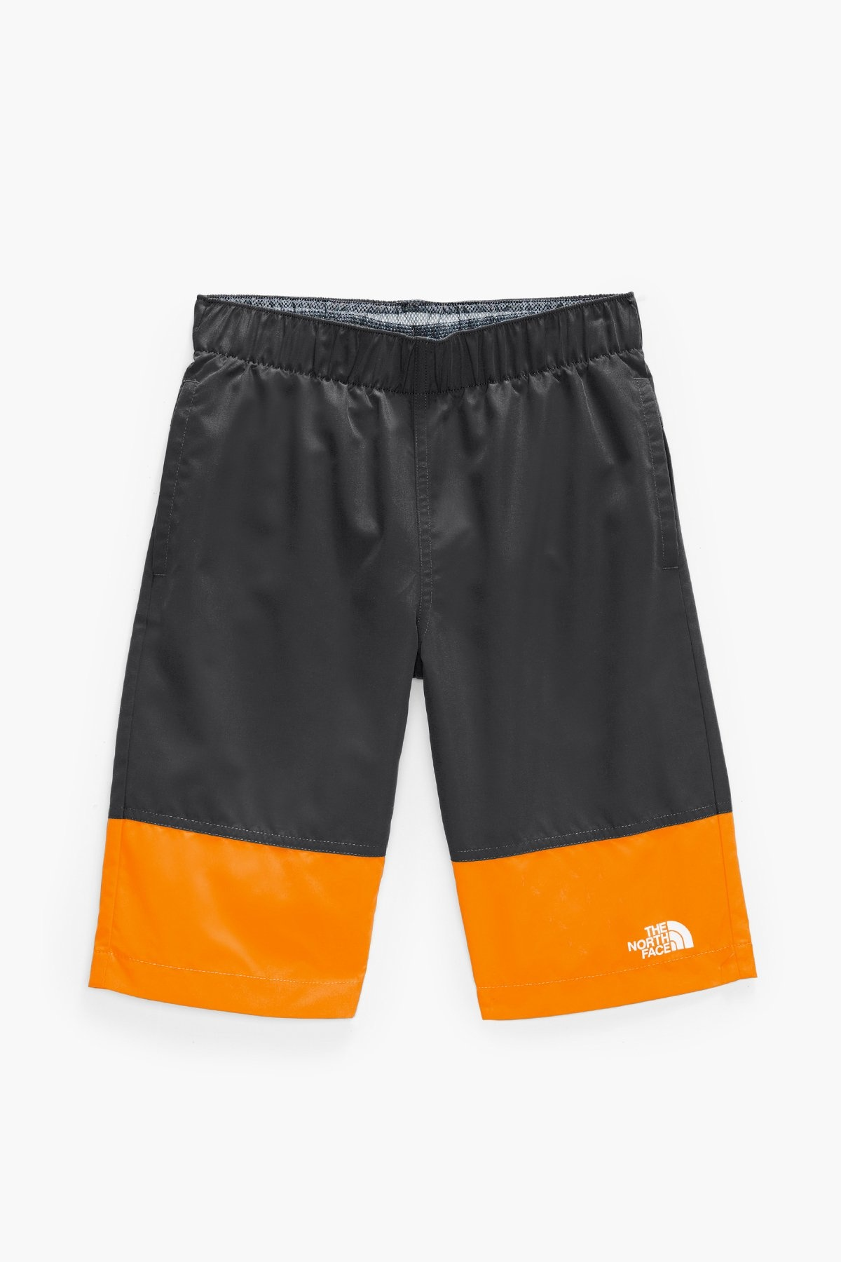 The North Face Boys Water Short Ash Grey Orange