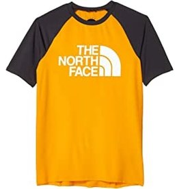 The North Face Boys Short Sleeve V Water T Flame Orange