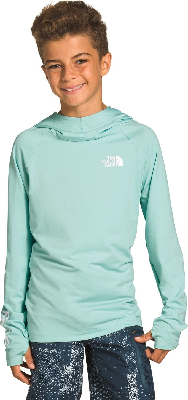 The North Face Youth Class V Hoodie Coastal Green