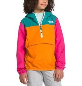 The North Face Youth Fanorak Jacket Flame Orange