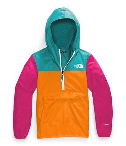 The North Face Youth Fanorak Jacket Flame Orange