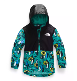 The North Face Toddler Zipline Jacket Jaden Green Happy Camper Print