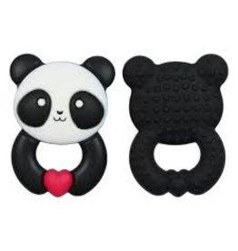 Glitter & Spice Whistle & Flute Small Kawaii Panda Teether