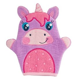 Stephen Joseph Bath Mitt Unicorn