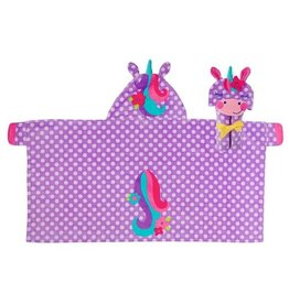 Stephen Joseph Hooded Towel Unicorn