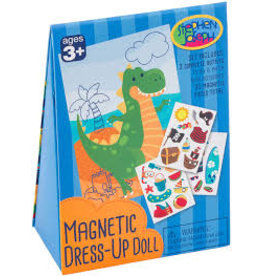 Stephen Joseph Magnetic Dress Up Doll Dino
