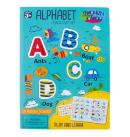 Stephen Joseph Alphabet Cling Playboards Boy