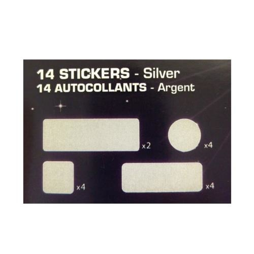 Reflective Stickers - silver