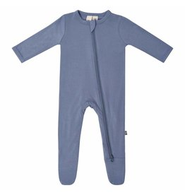 Kyte Baby Zipped Footie in Slate