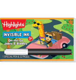 Lee Publications Invisible Ink On-The-Go-Jokes & Ridles