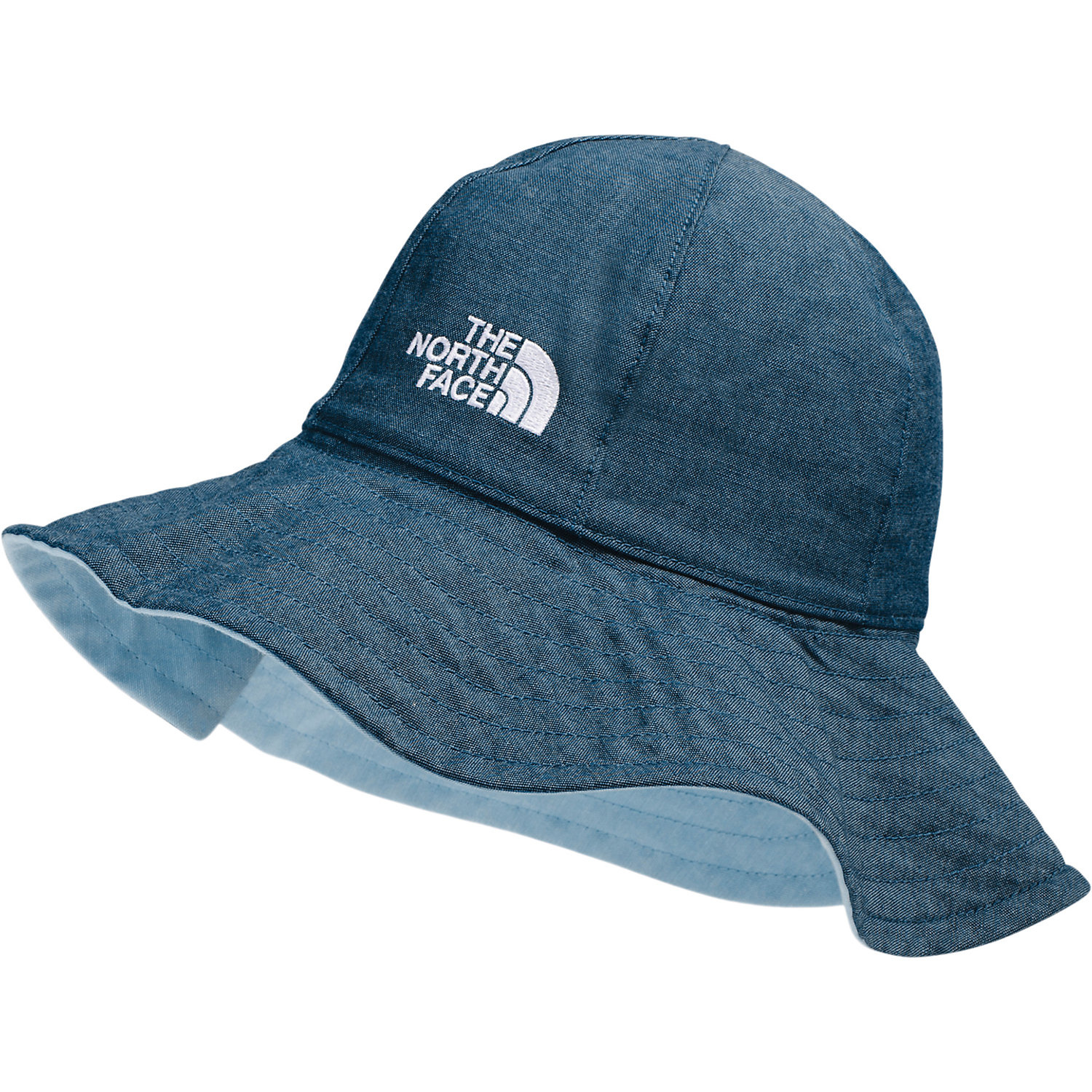 The North Face Baby Brimmer Hat Angle fall Blue