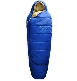 The North Face Youth Eco Trail Synth-20 Clear Blue Hemp Regular Sleepbag