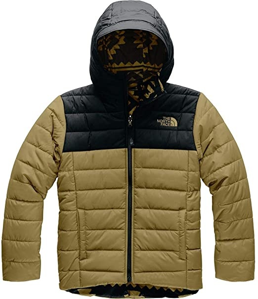 The North Face Boy Reversible Perrito Jacket British Khaki