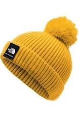 The North Face Baby Box Logo Pom Beanie TNF Yellow