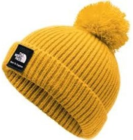 The North Face Baby Box Logo Pom Beanie TNF Yellow