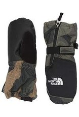 The North Face Toddler Mitt Brunt Olive Green Waxed Camo Print