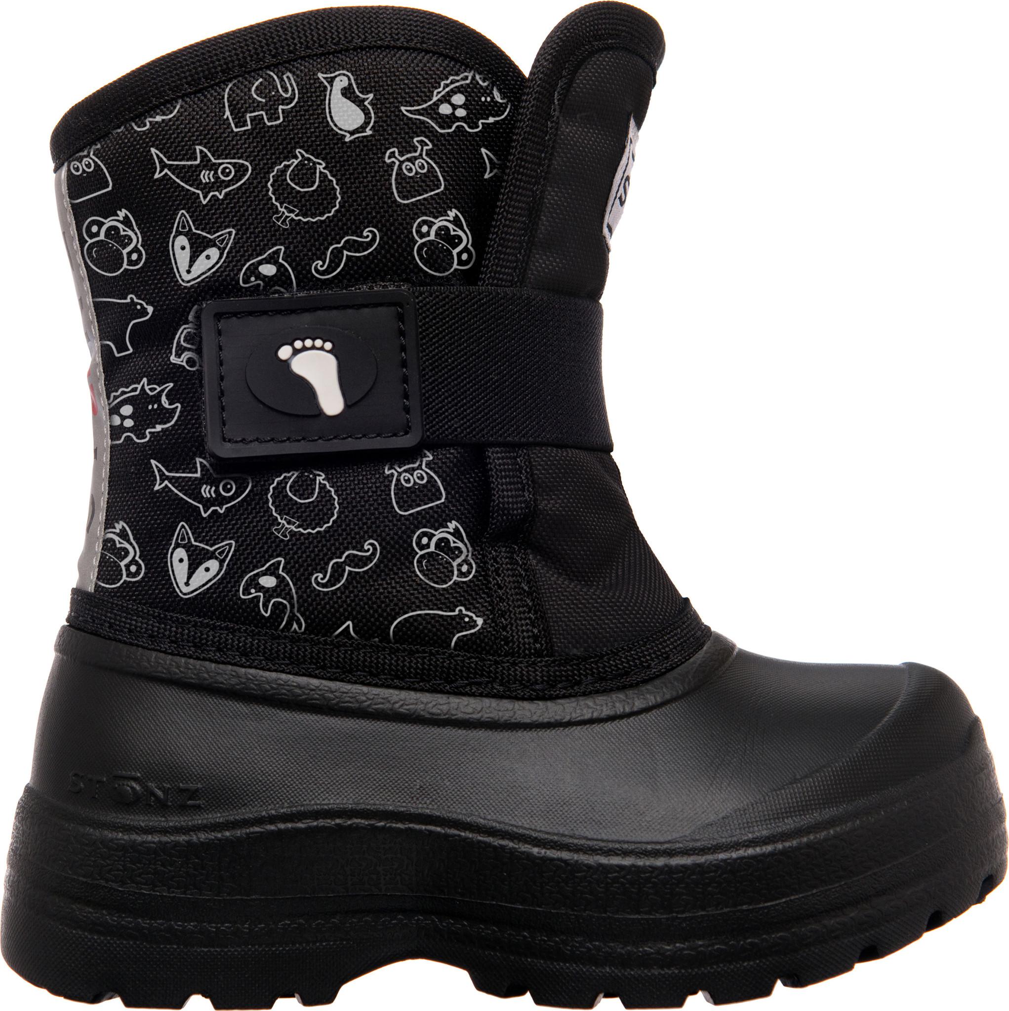 Stonz Scout Boot Black
