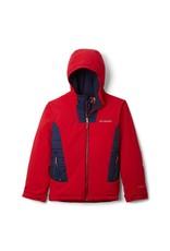 Columbia Wild Child Jacket - Mountain Red, Collegiate Navy