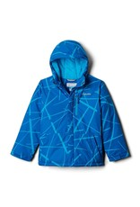 Columbia  Lightning Lift Jacket - Ocean Blue Spider Streets