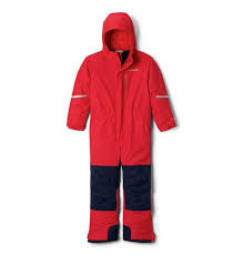 Columbia Infant Buga II Suit - Mountain Red, Collegiate Navy