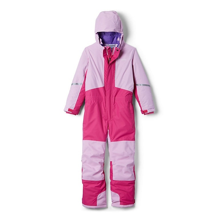 Columbia Youth Buga II Suit - Pink Ice, Pink Clover