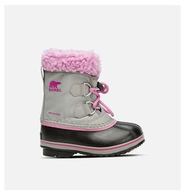 Sorel Yoot Pac Nylon Chrome Grey, Orchid