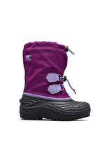 Sorel Youth Super Trooper Wild Iris/ Paisley Purple