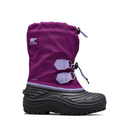 Sorel Youth Super Trooper Wild Iris/ Paisley Purple