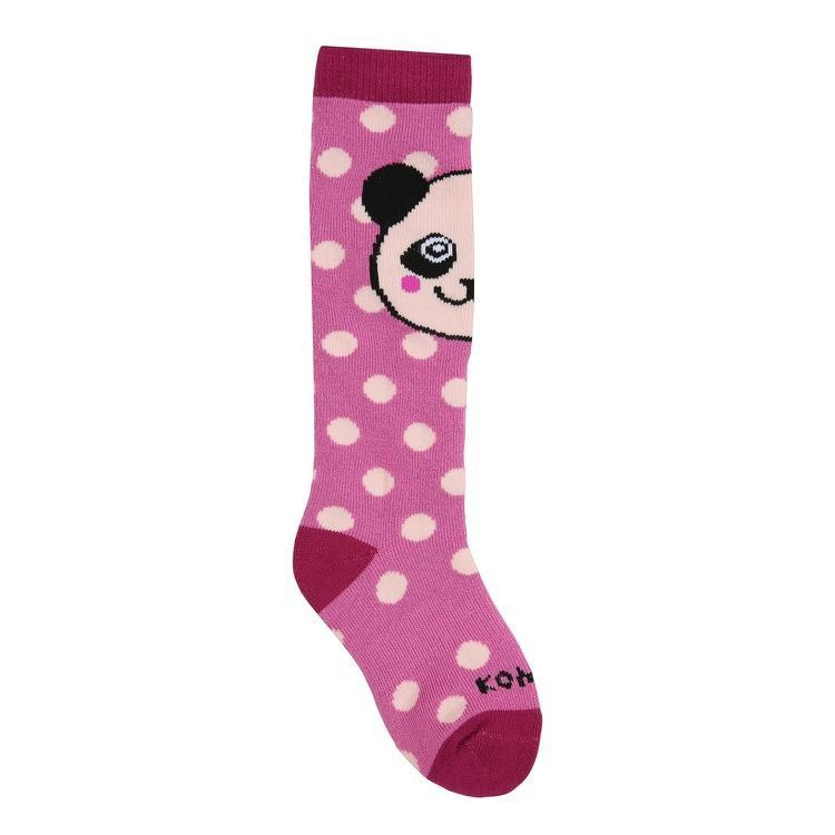 Kombi Animal Family Jr Sock Sasha The Panda