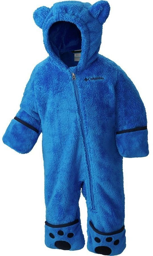 Columbia Foxy Baby Sherpa Bunting - Super Blue, Collegiate Navy