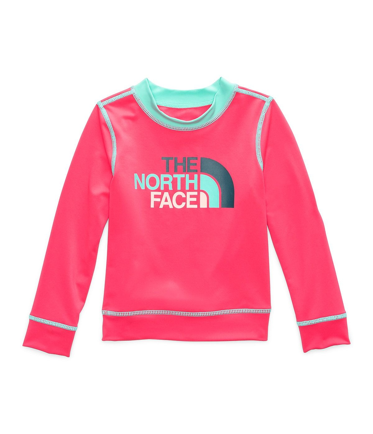 The North Face Toddler Long Sleeve Hike/Water T-Shirt Fiery Red