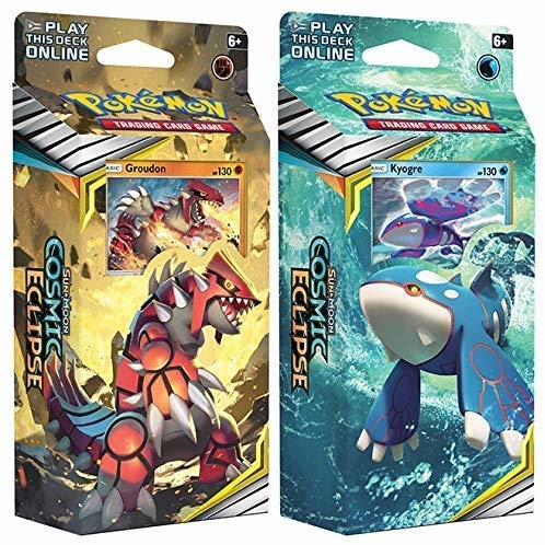 Pokemon Sun & Moon Cosmic Eclipse Theme Deck