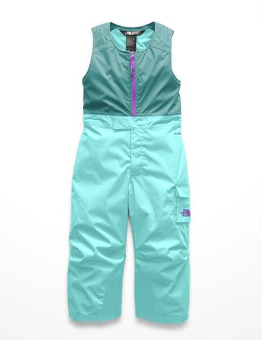 The North Face Toddler Insulated Bibs Mint Blue 3T