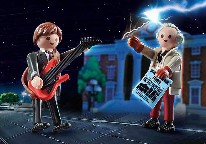 Playmobil Back To The Future Marty McFly and Dr. E
