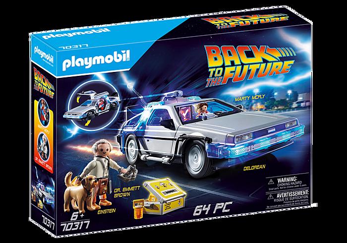 Playmobil Back To The Future DeLorean